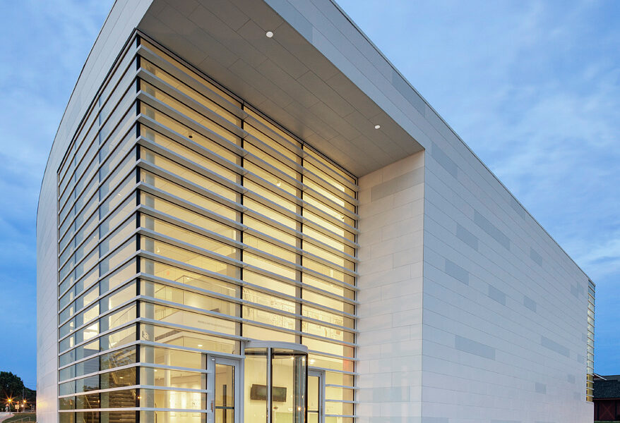 Museum of Wisconsin Art; West Bend, WI; HGA Architects and Engineers; Darris Harris Job#1155